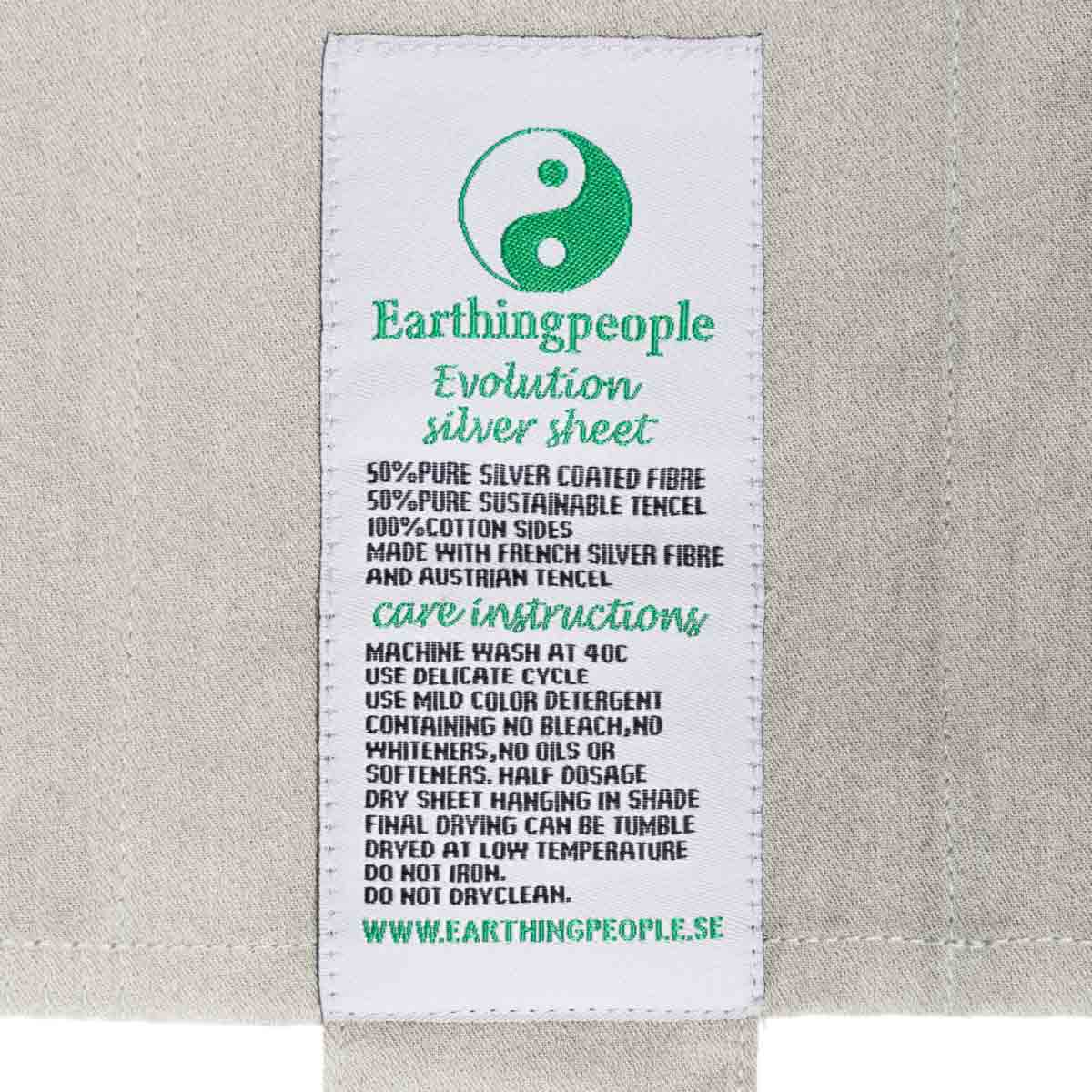 Evolution fitted earthing sheet, 120x200 cm (UK small double)