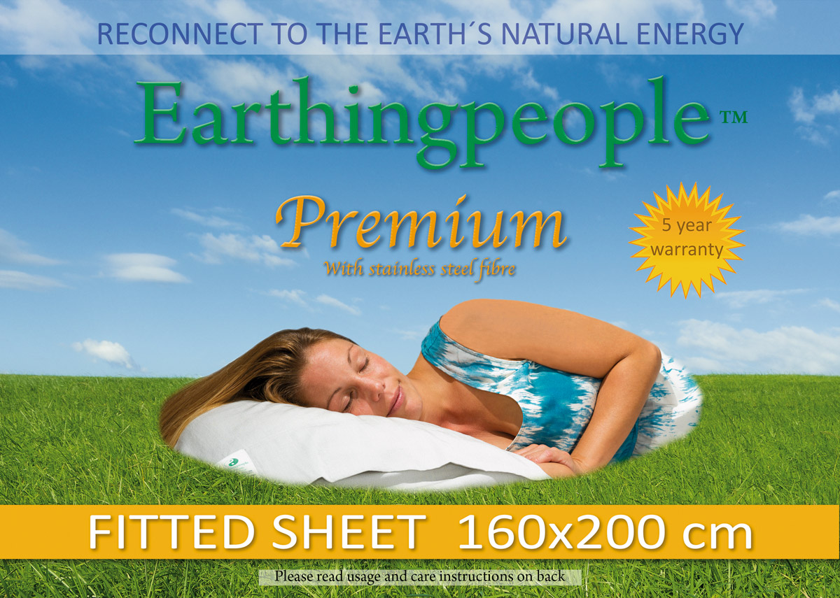 Premium fitted sheet, 160x200 cm (UK King)