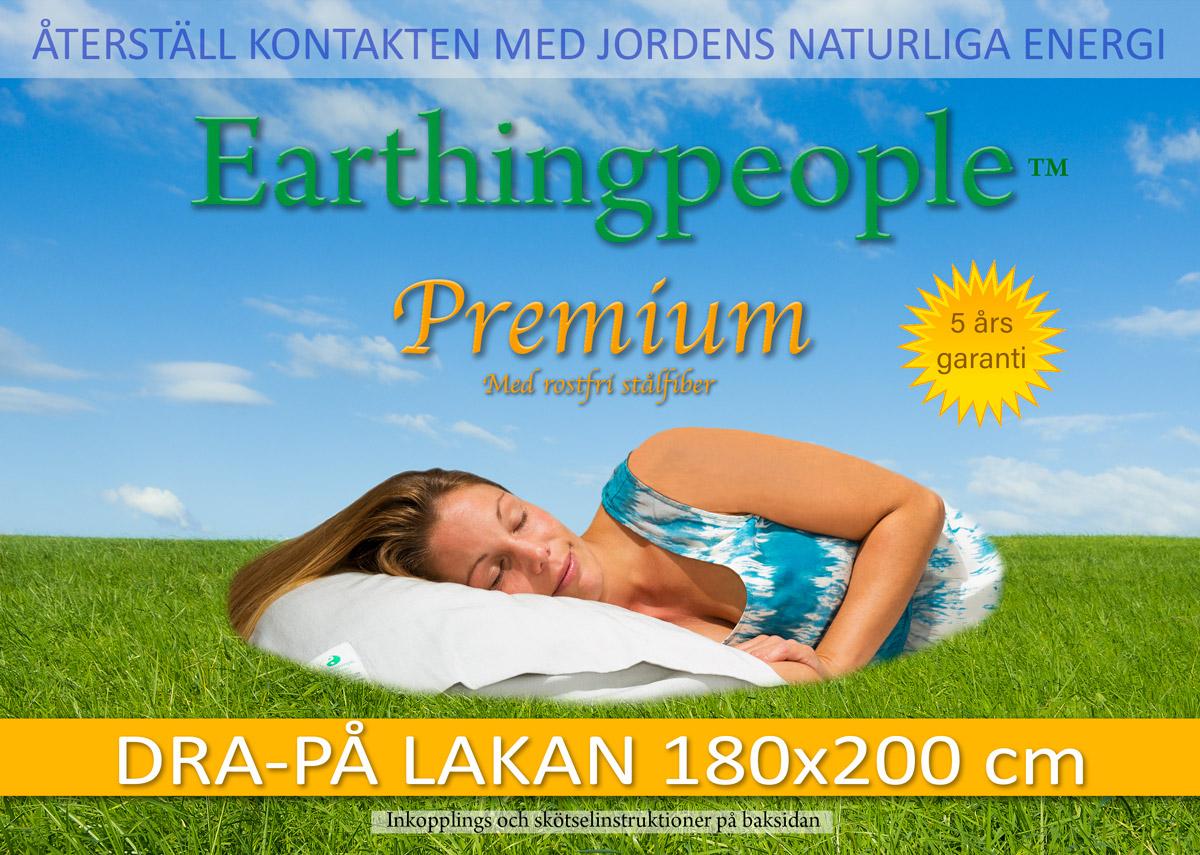 Premium dra-på lakan, 180x200 cm